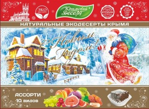 Новогодняя Дед Мороз макет