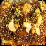 Экодесерт «Таврический» - фрукты и орехи с лепестками роз
