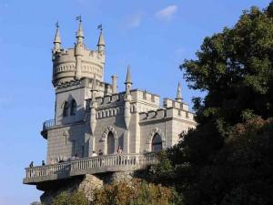 Замок Ласточкино Гнездо Гаспра
